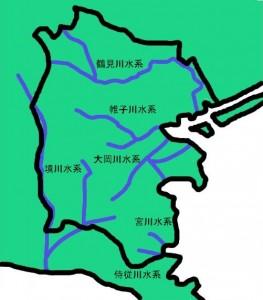 横浜の河川
