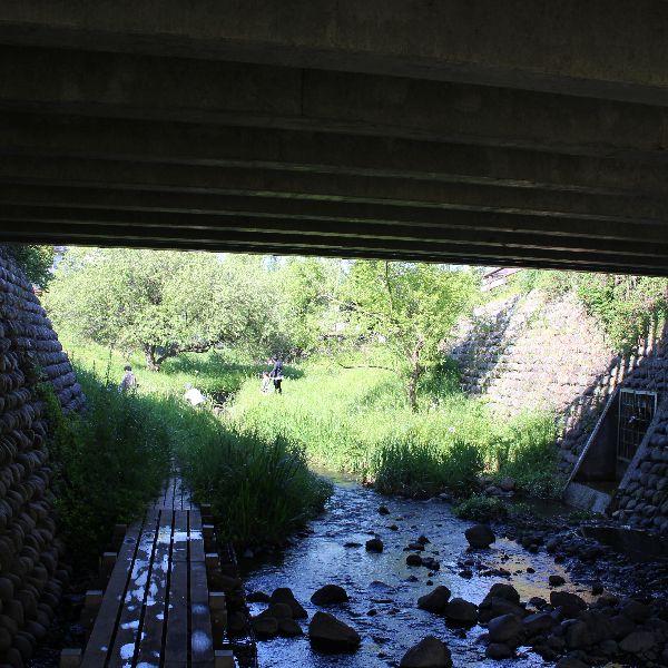 GWの川遊び